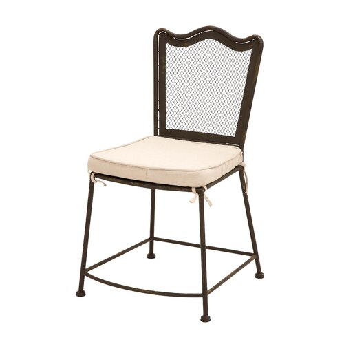 Woodland Imports Highly Stable and Strong Legs Side Chair