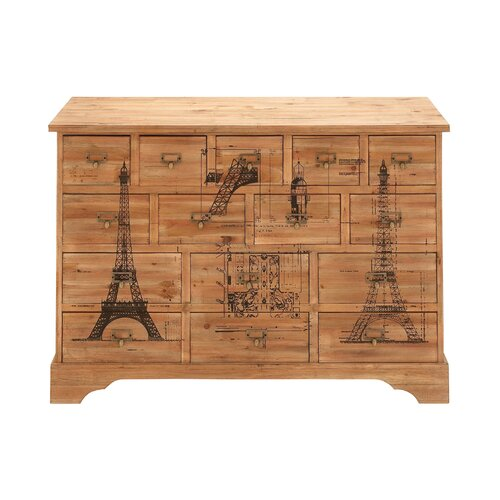 15 Drawer Dresser