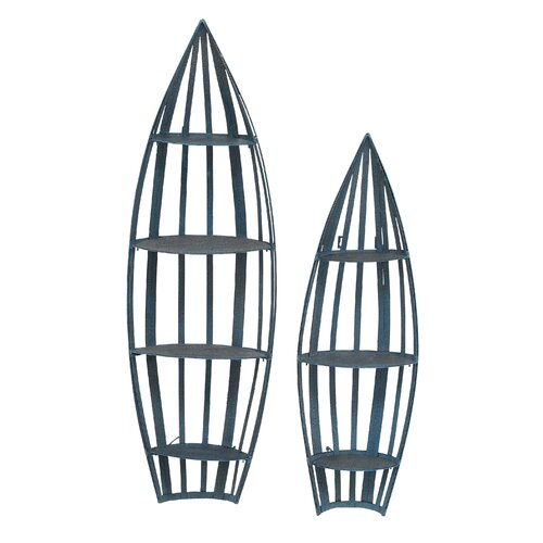 Wall Boat Shelf (Set of 2)