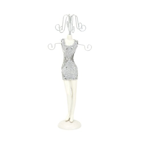 Woodland Imports Doll Shaped Jewelry Stand