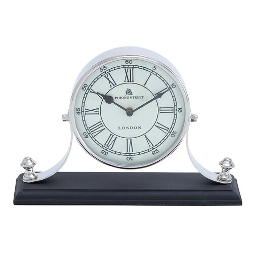 Woodland Imports Traditional Table Clock