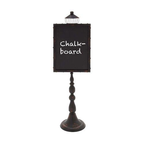 Woodland Imports Street Lamp Shaped Chalkboard