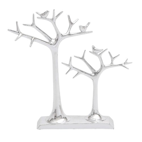 Woodland Imports Showpiece Double Tree Jewelry Stand