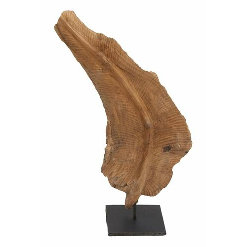 Decorative Leaf Shaped Stand Figurine