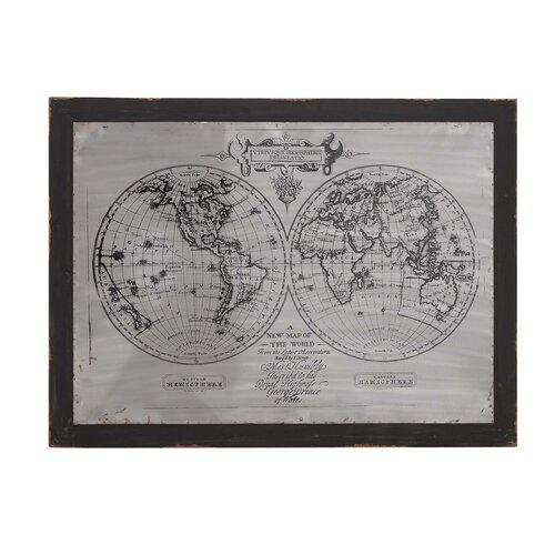 Global Framed Graphic Art