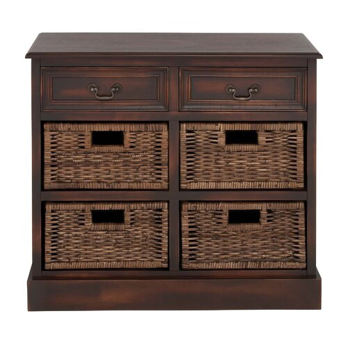 Manhattans Coppice 6 Drawer Basket Chest