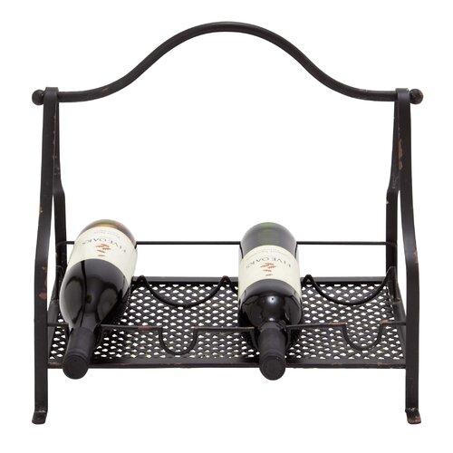 Woodland Imports Table Top Wine Rack