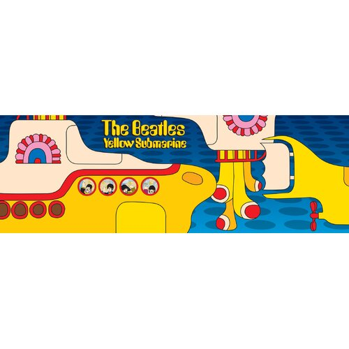 Aquarius Beatles Yellow Sub 1000 Piece Jigsaw Puzzle