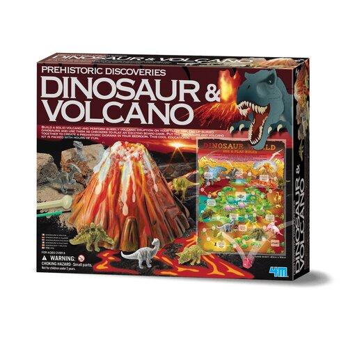 4M Dinosaur and Volcano