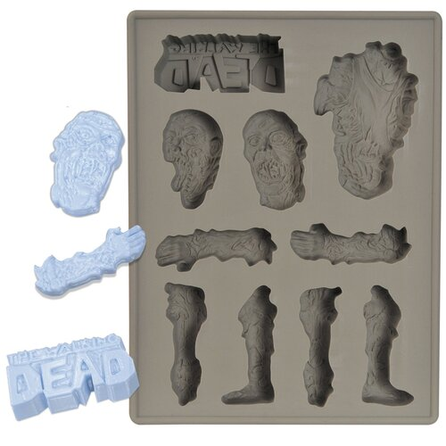 Diamond Selects The Walking Dead Silicone Ice Cube Tray