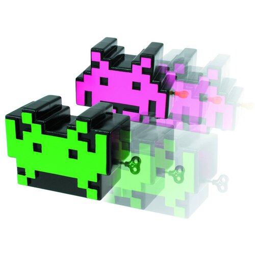 50Fifty Concepts Space Invaders Wind-Up Toy (Set of 2)