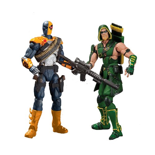 Diamond Selects DC Comics Injustice: Gods Among Us Deathstroke vs Green Arrow Action Figure
