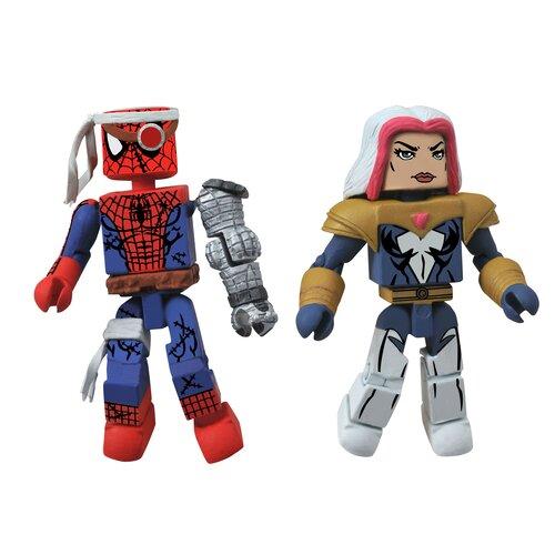 Diamond Selects Marvel Minimates Series 50: Cyborg Spider-Man and Songbird