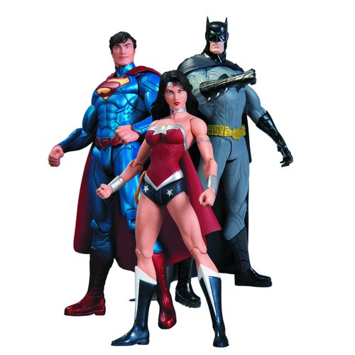 Diamond Selects Justice League Trinity War Action Figure Box Set