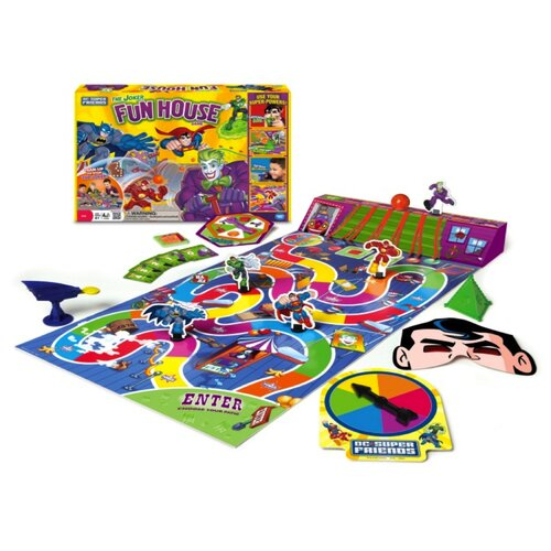 Wonder Forge WB Super Friends Joker's Fun House Game