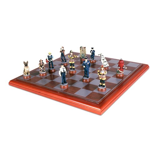 Police/Firemen Chess Set