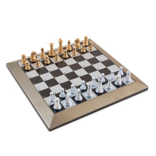 Sunnywood Plastic Magnetic Chess Set with Carrying Case