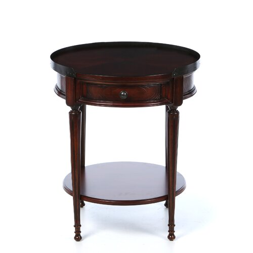 Butler Plantation Cherry Round End Table