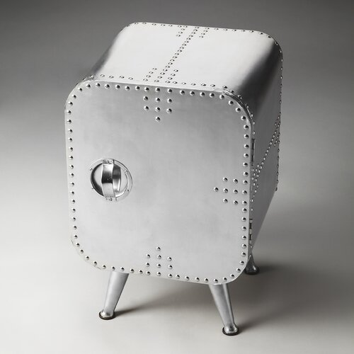 Metalworks Midway Aviator Chairside Chest
