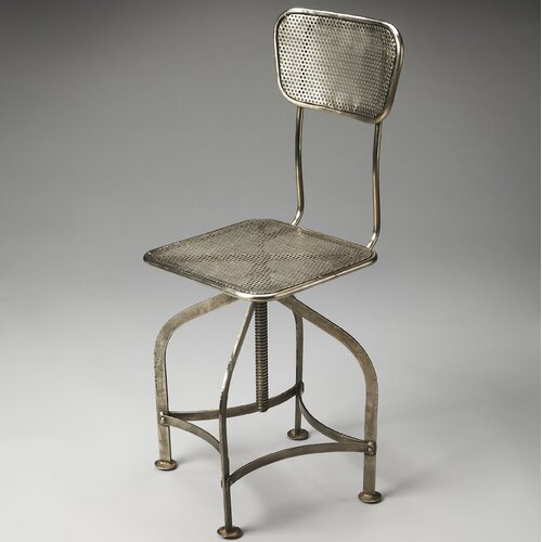 Metalworks Pershing Swivel Chair