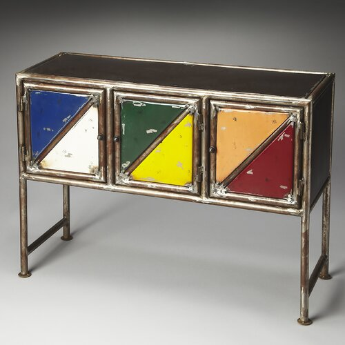 Metalworks Lambert Industrial Chic Console Cabinet
