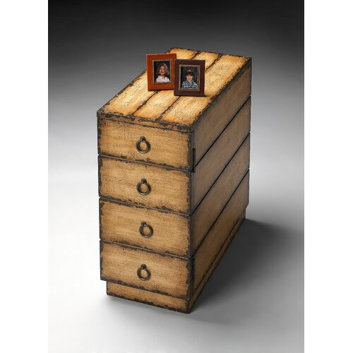 Artist's Originals 4 Drawer Chairside Accent Chest