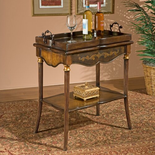 Heritage Removable Top End Table