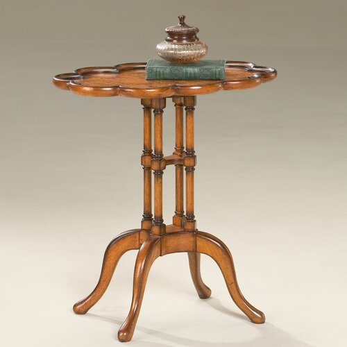 Butler Masterpiece Scalloped End Table