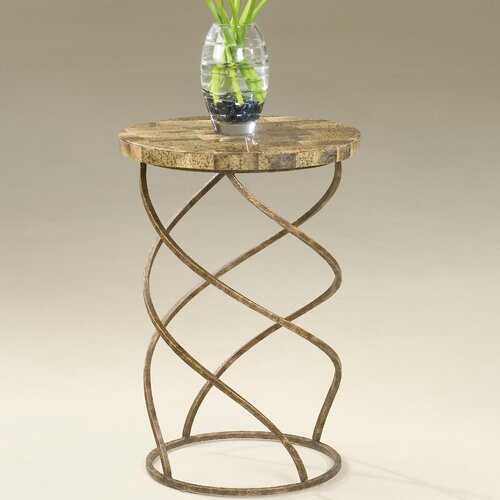 Metalworks Twist End Table