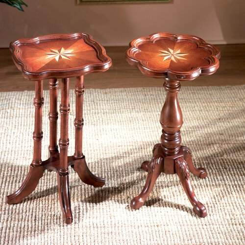 Butler Plantation Cherry Oval Scatter End Table