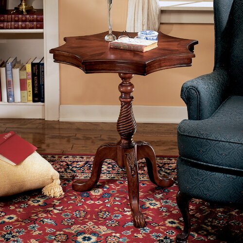 Plantation Cherry Star End Table