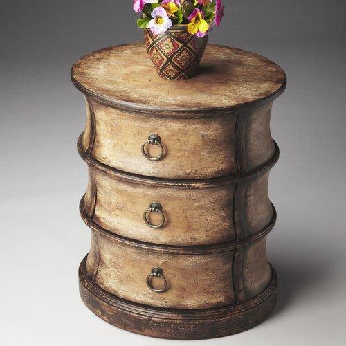 Artist's Originals Oval Drum Table