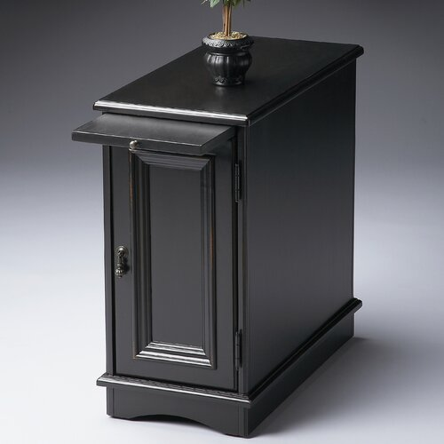Butler Black Licorice Chairside Chest