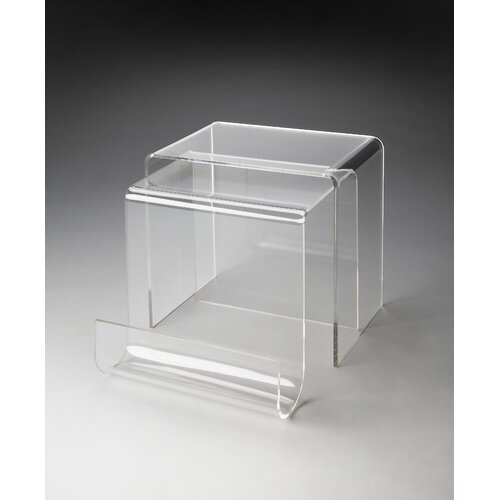 Loft Clearwater 2 Piece Nesting Tables
