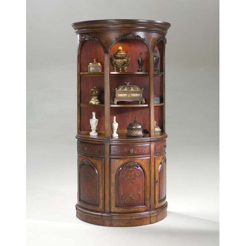Artists' Originals Demilune Hutch Cabinet