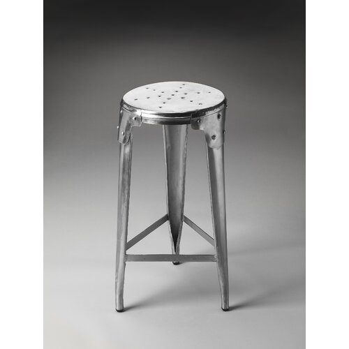 Metalworks Essex Backless Bar Stool
