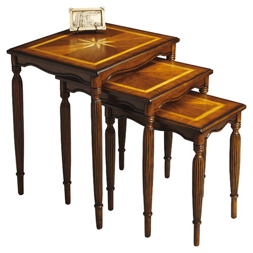 Butler Masterpiece 3 Piece Nesting Tables