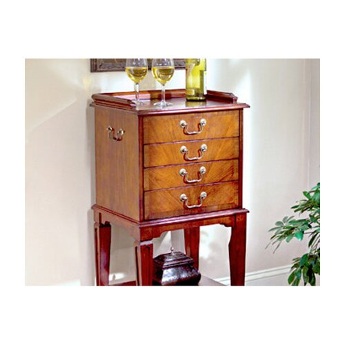 Butler Plantation Cherry 4 Drawer Chest