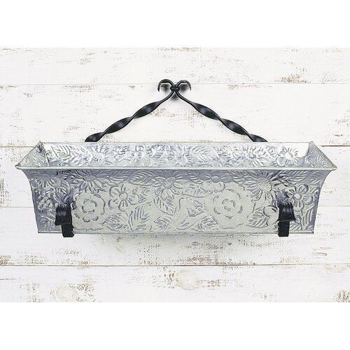 ACHLA Twist Rectangular Flower Box Bracket