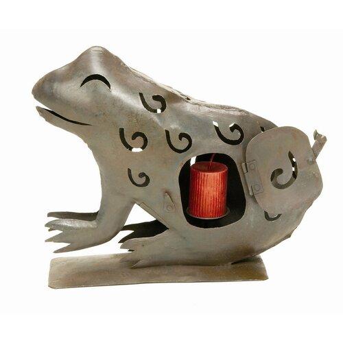 ACHLA Frog Iron Lantern