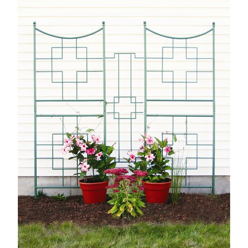 ACHLA Square-on-Squares Center Link Trellis