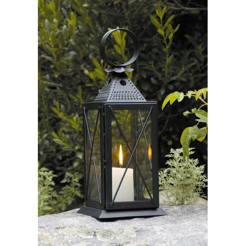 ACHLA Raleigh Tavern Iron and Glass Lantern
