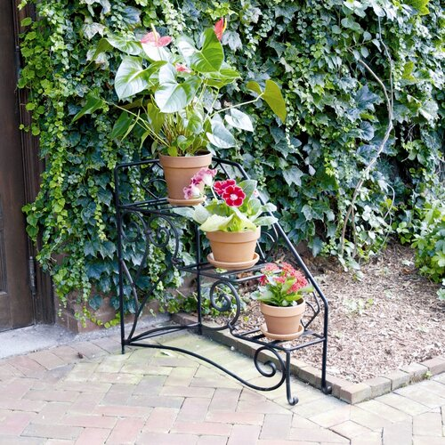 ACHLA Peacock Steps Right Planter