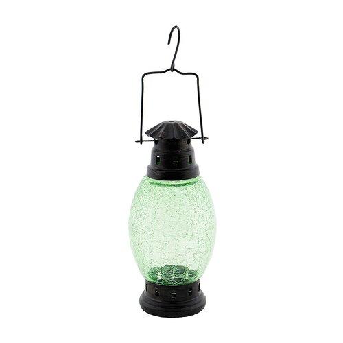 ACHLA Crackle Glass Lantern