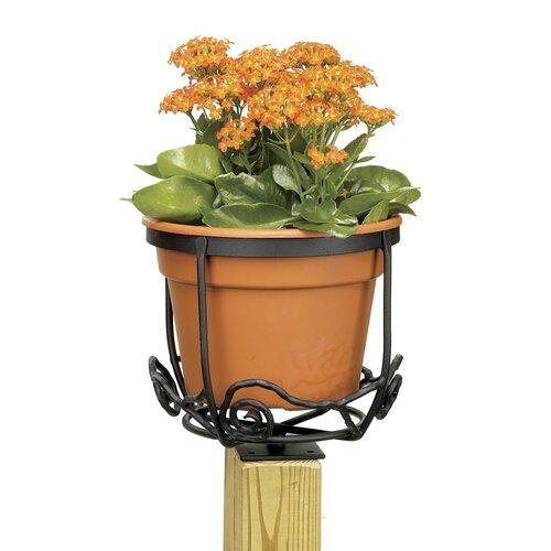 ACHLA Round Flower Basket Holder