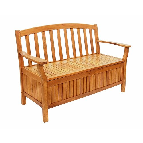 ACHLA Wood Storage Bench