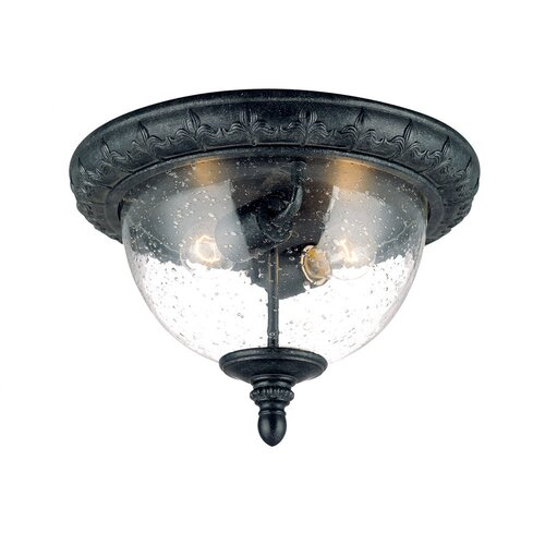 Acclaim Lighting Fleur de Lis 2 Light Flush Mount