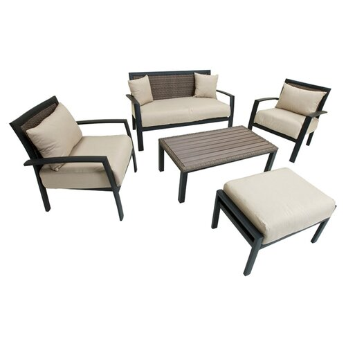 rattan sunbrella outdoor furniture wayfair
