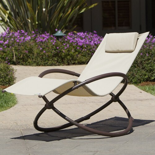 Rst brands outdoor original orbital zero gravity chaise for Chaise zero gravite