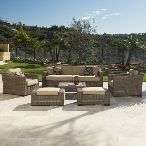 Modular outdoor furniture wayfair for Outdoor furniture wayfair